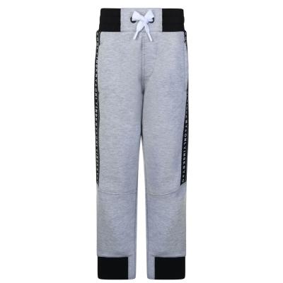 Pantaloni jogging DKNY Logo pentru baieti chine gri a32