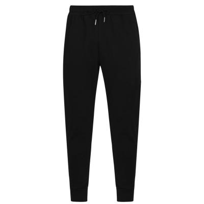 Pantaloni jogging Due Diligence Sun Logo pentru Barbati negru