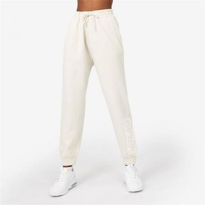 Pantaloni jogging Everlast supradimensionat crem