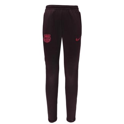 Pantaloni jogging FC Barcelona FC Barcelona Dry Strike Juniors rosu burgundy
