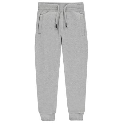 Pantaloni jogging Firetrap Slim pentru fete pentru Bebelusi gri