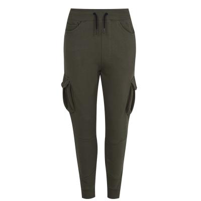 Pantaloni jogging Golddigga Cargo pentru Femei kaki