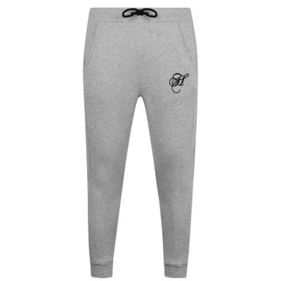 Pantaloni jogging Hardcore Krome gri marl