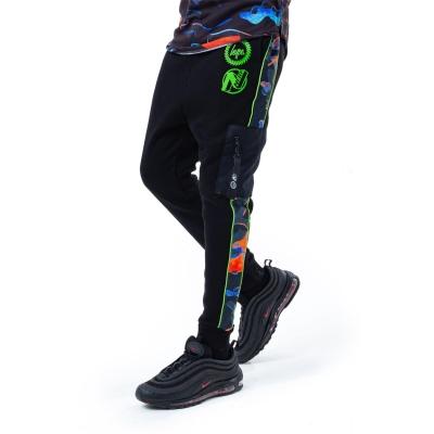 Pantaloni sport Hype Hype x Nerf Heat Camo pentru Copii negru