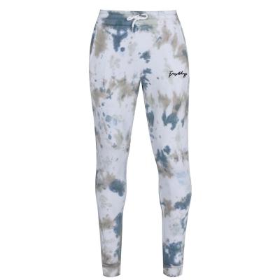 Pantaloni jogging Hype kaki Tie Dye Scribble Logo pentru Barbati