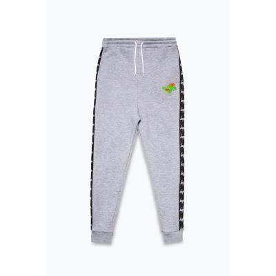 Pantaloni jogging Hype x Space Jam Retro Print Logo pentru adulti cu personaje gri