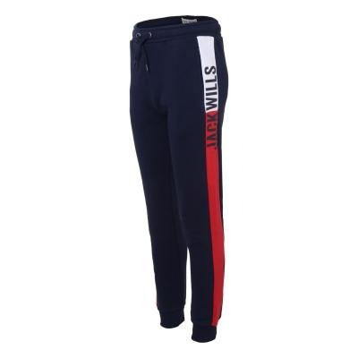 Pantaloni jogging Jack Wills Colour Block baietei bleumarin