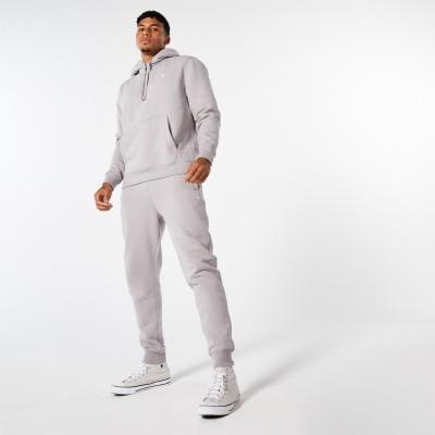 Pantaloni jogging Jack Wills Haydor Pheasant Logo gri carbune