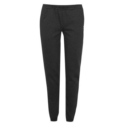 Pantaloni jogging LA Gear cu mansete pentru Femei gri carbune