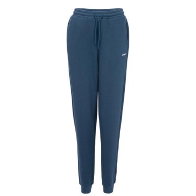 Pantaloni jogging LA Gear cu mansete pentru Femei gri albastru