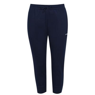 Pantaloni jogging LA Gear trei sferturi Interlock pentru Femei bleumarin