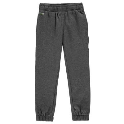 Pantaloni jogging Lacoste Basic cu mansete