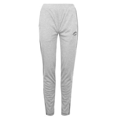 Pantaloni jogging Lonsdale Interlock pentru Femei gri