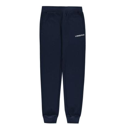 Pantaloni jogging Lonsdale pentru fetite bleumarin