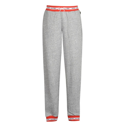 Pantaloni jogging MARC JACOBS Band Tape chine gri a35