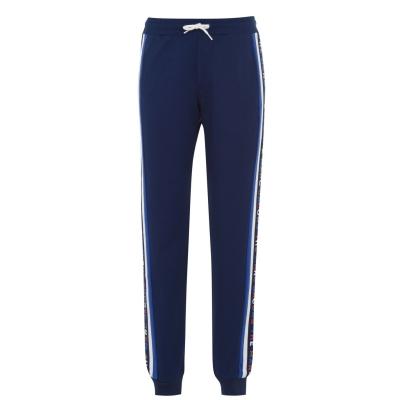 Pantaloni jogging MARC JACOBS Tape medivl albastru 84n