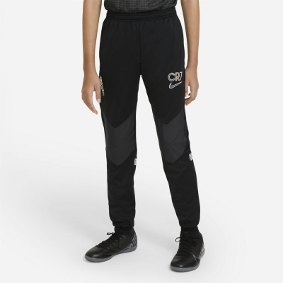 Pantaloni jogging Nike CR7 Dry pentru baietei negru alb