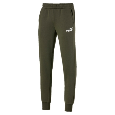 Pantaloni jogging Puma No 1 Logo pentru Barbati verde alb