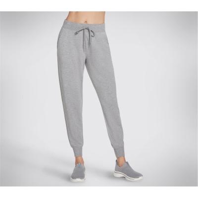 Pantaloni jogging Skechers Restful pentru Femei gri deschis