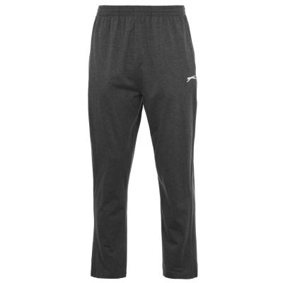 Pantaloni jogging Slazenger Jersey pentru Barbati gri carbune
