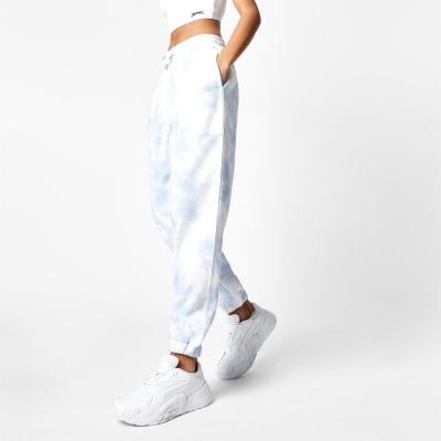 Pantaloni jogging Slazenger x Sophia & Cinzia albastru tie dye