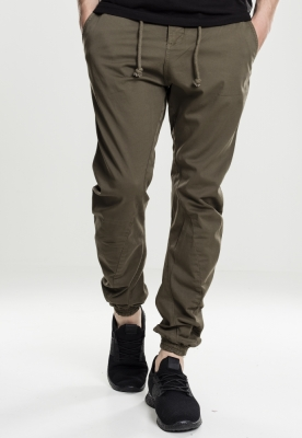 Pantaloni jogging Stretch oliv Urban Classics
