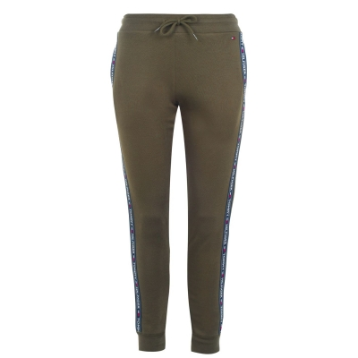 Pantaloni jogging Tommy Bodywear Authentic Logo oliv bleumarin