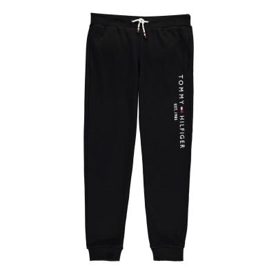 Pantaloni jogging Tommy Hilfiger Essential negru bds