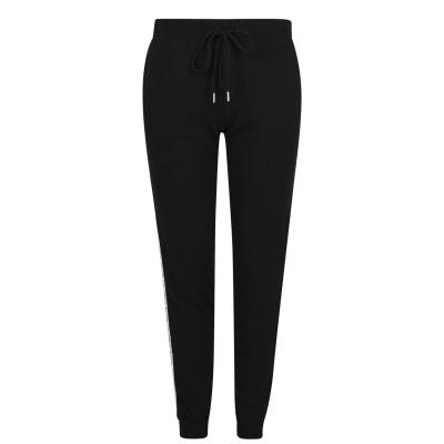 Pantaloni jogging True Religion Tape negru