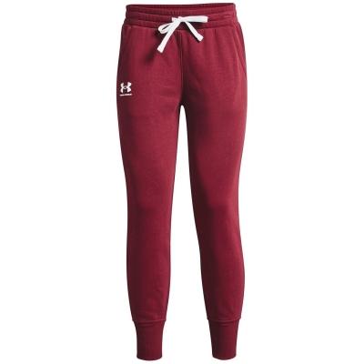Pantaloni jogging Under Armour Armour Rival league rosu