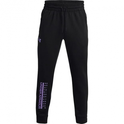 Pantaloni jogging Under Armour Armour Summit tricot pentru Barbati negru