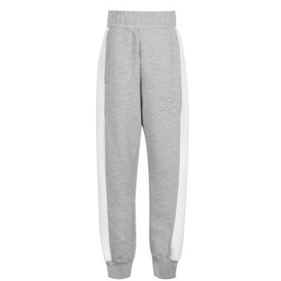 Pantaloni jogging USA Pro clasic pentru fetite gri