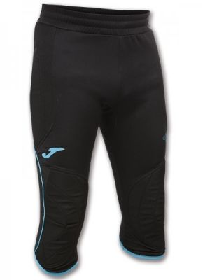Pantaloni Joma Pirate Protection Portar negru-turcoaz