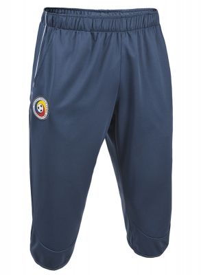 Pantaloni trei sferturi antrenament Joma echipa nationala a Romaniei albastru bleumarin