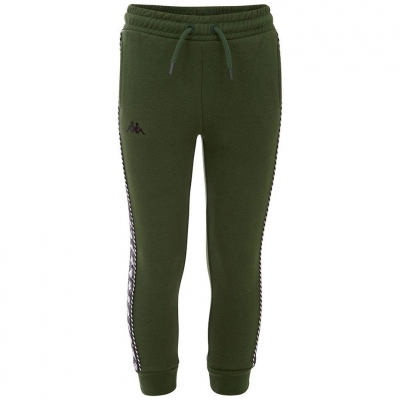 Pantaloni Kappa IRENEUS verde 309010 19-6311 pentru Barbati