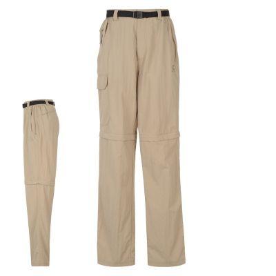 Pantaloni Karrimor Aspen cu fermoar Off pentru Barbati bej