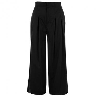 Pantaloni Kendall and Kylie Crop negru