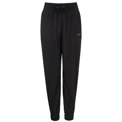 Pantaloni LA Gear cu mansete Woven pentru fete negru