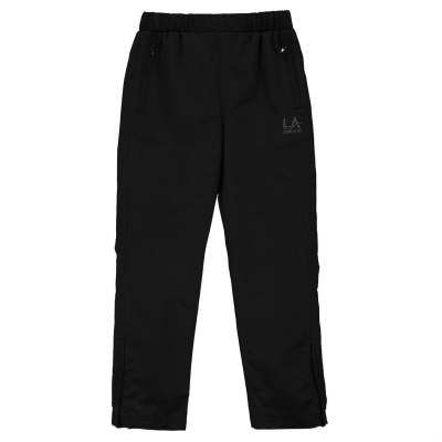 Pantaloni LA Gear fara mansete Woven pentru fete negru