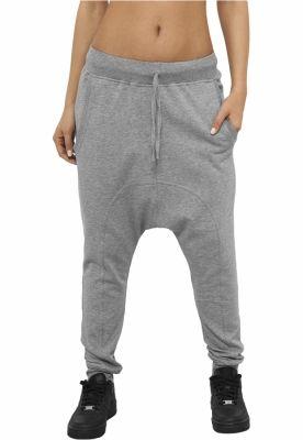 Pantaloni cu turul lasat dama gri Urban Classics