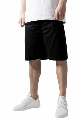Pantaloni largi de hip hop negru Urban Classics