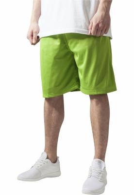 Pantaloni largi de hip hop verde-lime Urban Classics