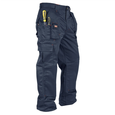 Pantaloni Lee Cooper Workwear Cargo pentru Barbati bleumarin