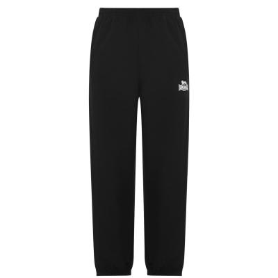 Pantaloni Lonsdale cu mansete Woven pentru baietei negru