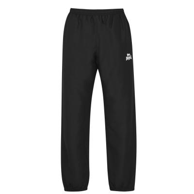 Pantaloni Lonsdale cu mansete Woven pentru Barbati negru