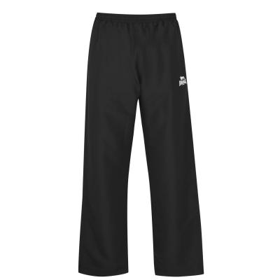 Pantaloni Lonsdale fara mansete Woven pentru Barbati negru
