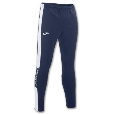 Pantaloni lungi Joma Champion Iv bleumarin-alb Stretchy Pol