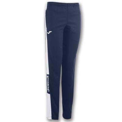 Pantaloni lungi Joma Champion Iv bleumarin-alb pentru Femei