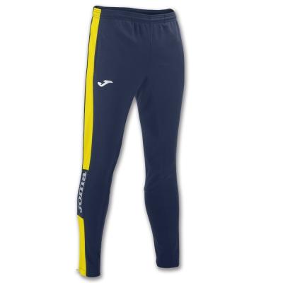 Pantaloni lungi Joma Champion Iv bleumarin-galben Stretchy Po