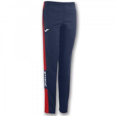 Pantaloni lungi Joma Champion Iv bleumarin-rosu Stretchy pentru Femei